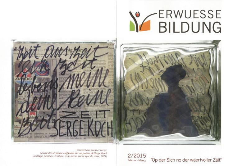 N° 2/15 - Op der Sich no der wäertvoller Zäit (couverture)
